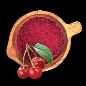 Лиофилизирани вишни на прах