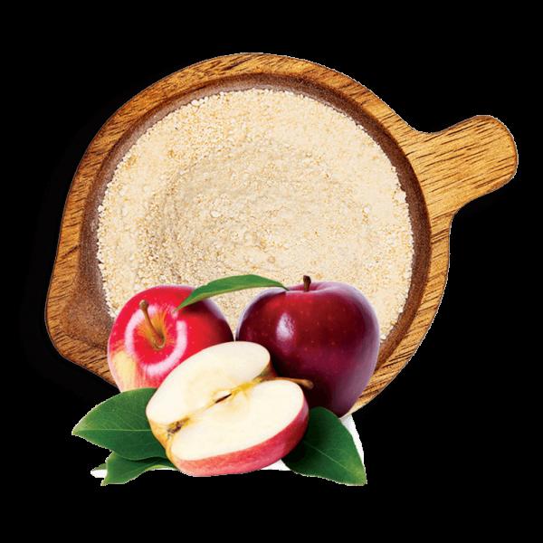 Лиофилизирана ябълка на прах