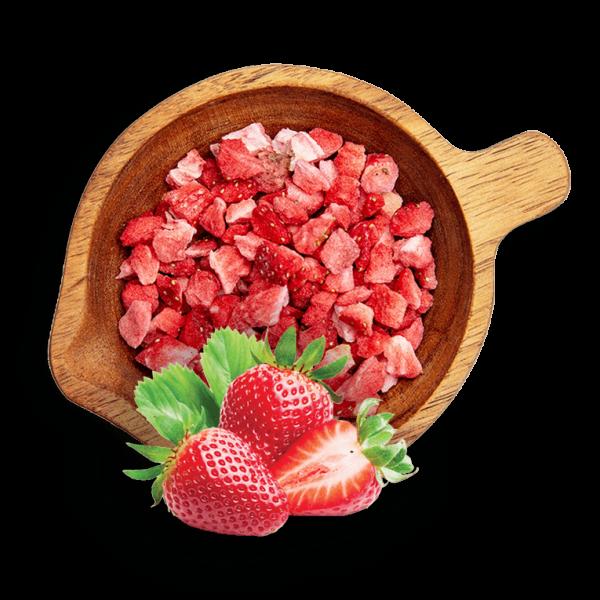 Лиофилизирани ягоди на парченца